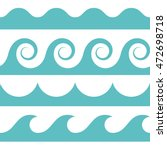 blue and white colored seamless ...   Shutterstock .eps vector #472698718