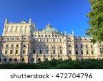 krakow  baroque architecture ... | Shutterstock . vector #472704796