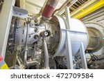 gas turbine engine is the prime ... | Shutterstock . vector #472709584
