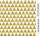 golden triangles vector...   Shutterstock .eps vector #472713544