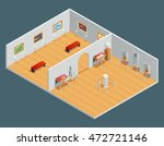 isometric color illustration of ... | Shutterstock .eps vector #472721146