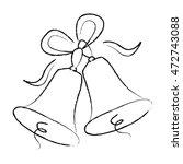 illustration of a elegant black ... | Shutterstock .eps vector #472743088
