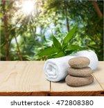 health spa. | Shutterstock . vector #472808380