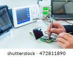measuring devices in the... | Shutterstock . vector #472811890