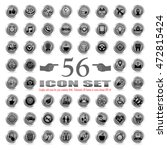 set of vector icons for using...   Shutterstock .eps vector #472815424