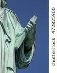 Liberty Statue On Liberty...