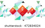 abstract background. geometric...   Shutterstock .eps vector #472834024