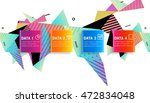 abstract background. geometric... | Shutterstock .eps vector #472834048