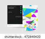 business abstract template... | Shutterstock .eps vector #472840420