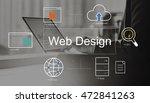 big data domain web page seo... | Shutterstock . vector #472841263