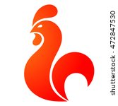 cock  rooster icon. cock logo....