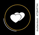 heart icon | Shutterstock .eps vector #472849744