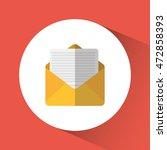 envelope email message social... | Shutterstock .eps vector #472858393