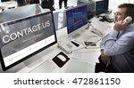 register enquiry online web... | Shutterstock . vector #472861150