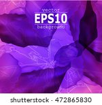 abstract background. leaf veins.... | Shutterstock .eps vector #472865830