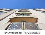 condo buildings in montreal... | Shutterstock . vector #472880038