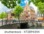 Typical Canal Side Cityscape O...
