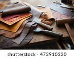 leather craft or leather... | Shutterstock . vector #472910320