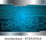 dark blue silver light abstract ...   Shutterstock .eps vector #472919314