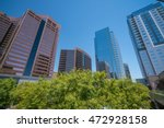 financial district area of...   Shutterstock . vector #472928158
