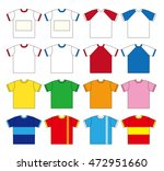 t shirt vector set  sixteen... | Shutterstock .eps vector #472951660
