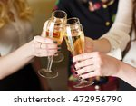 hands holding the glasses of... | Shutterstock . vector #472956790