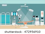 medical hospital surgery... | Shutterstock .eps vector #472956910