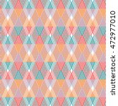 textile pattern. geometric... | Shutterstock .eps vector #472977010