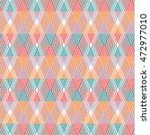 textile pattern. geometric... | Shutterstock .eps vector #472977010