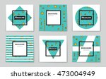 abstract vector layout... | Shutterstock .eps vector #473004949