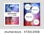 abstract vector layout... | Shutterstock .eps vector #473013508