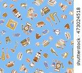 illustration pattern of the... | Shutterstock .eps vector #473024518