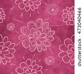 seamless floral pattern.... | Shutterstock .eps vector #473040466