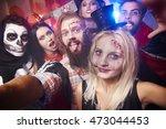 Selfie Taken At The Halloween...