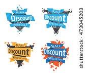 banner sale template design   Shutterstock .eps vector #473045203