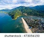 lang co beach near hai van pass ...   Shutterstock . vector #473056150
