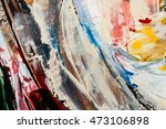 abstract art background. oil... | Shutterstock . vector #473106898