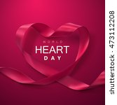 world heart day background.... | Shutterstock .eps vector #473112208