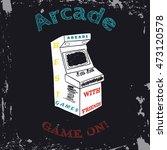 Arcade Vector  Arcade Vintage ...