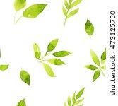 watercolor pattern   Shutterstock . vector #473125750