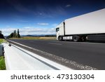 truck on the road | Shutterstock . vector #473130304