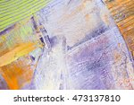 painting artistic bright color... | Shutterstock . vector #473137810
