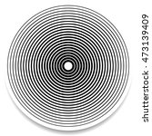 concentric circles  rings... | Shutterstock .eps vector #473139409