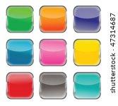 blank web buttons | Shutterstock .eps vector #47314687