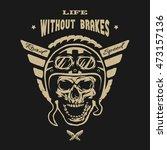 extreme motocross. emblem  t...   Shutterstock .eps vector #473157136
