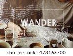 travel holiday wanderlust trip...   Shutterstock . vector #473163700