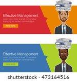 vector footer banner for... | Shutterstock .eps vector #473164516