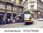 italy. milan   april 21  2016 ... | Shutterstock . vector #473179030