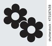 flower icon vector | Shutterstock .eps vector #473187658