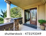 luxury house exterior. entrance ... | Shutterstock . vector #473193349